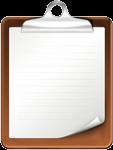 Clipboard - sm - Paperwork