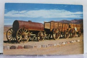 Borax haul wagons and a water trailer - The Legend of Borax Charlie