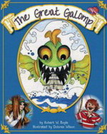 Great Galomp book cover - Links to friends